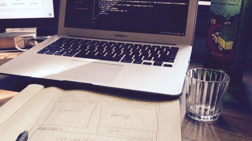 Mezcal Reviews website workspace