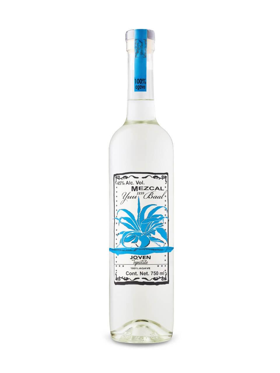 Mezcal Yuu Baal Tepeztate Joven bottle