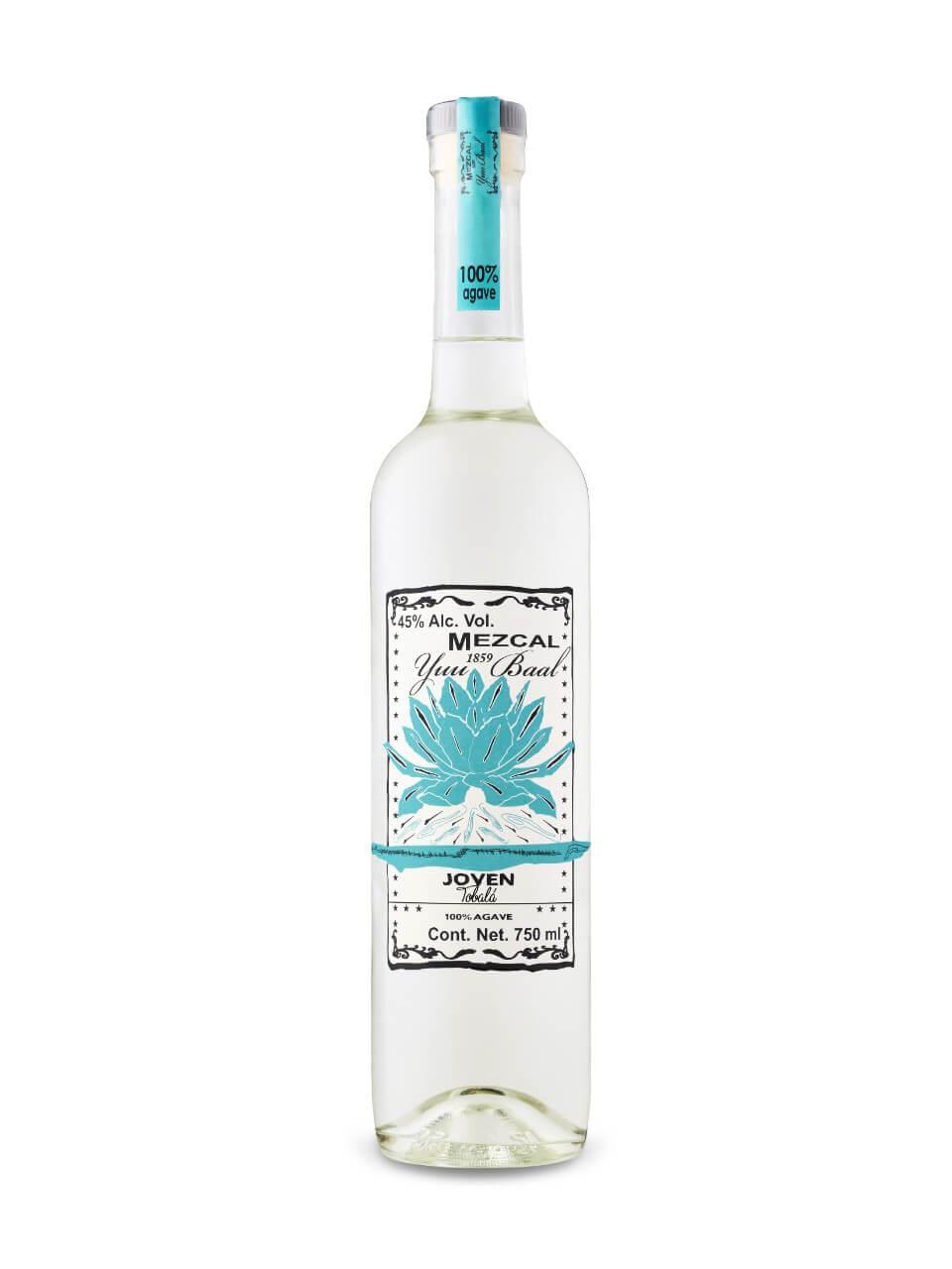 Mezcal Yuu Baal Tobala Joven bottle