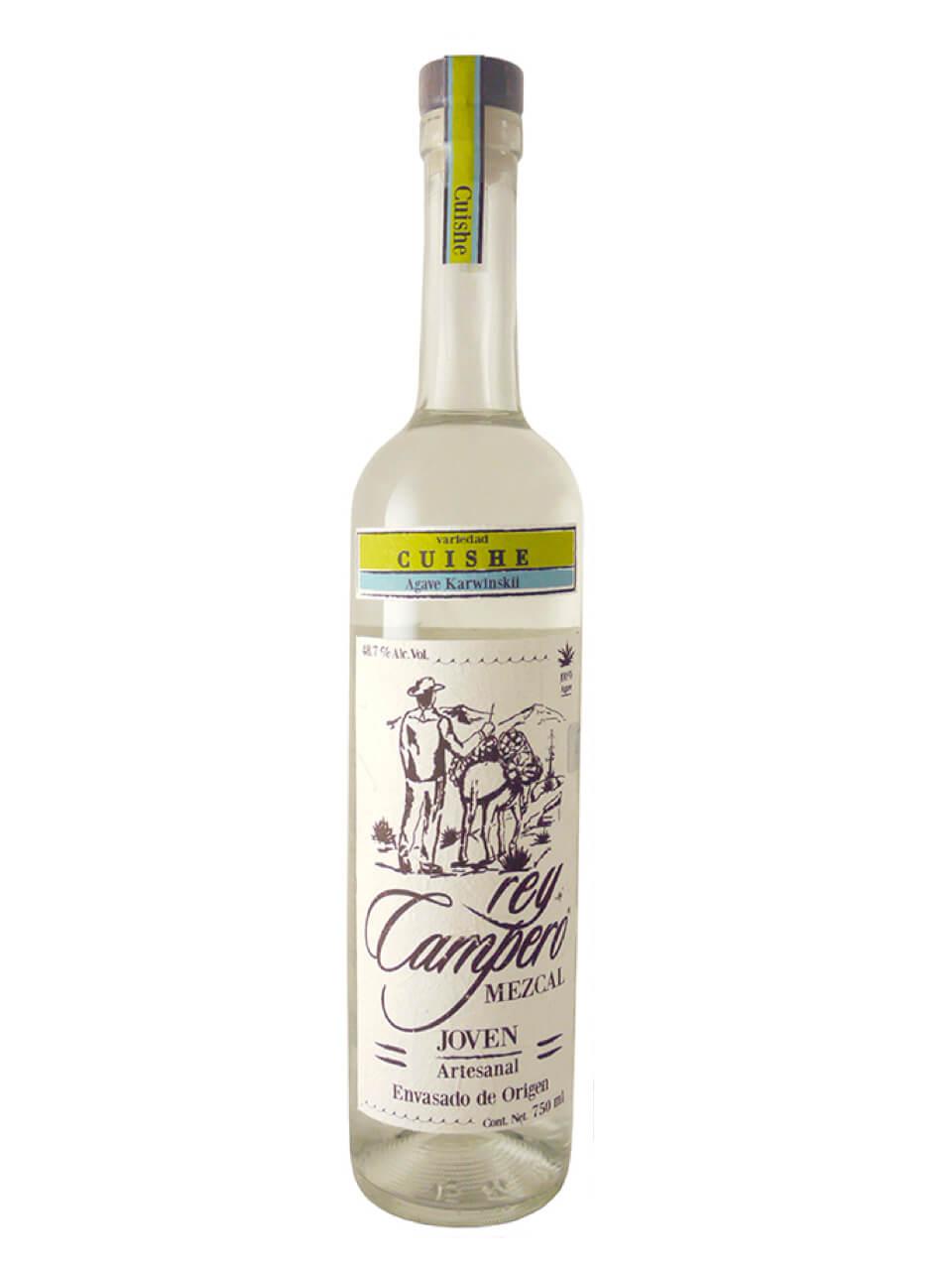 Rey Campero Cuishe Joven Mezcal bottle