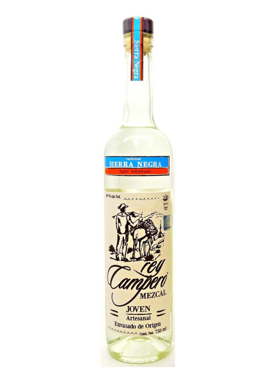 Rey Campero Sierra Negra Joven Mezcal bottle