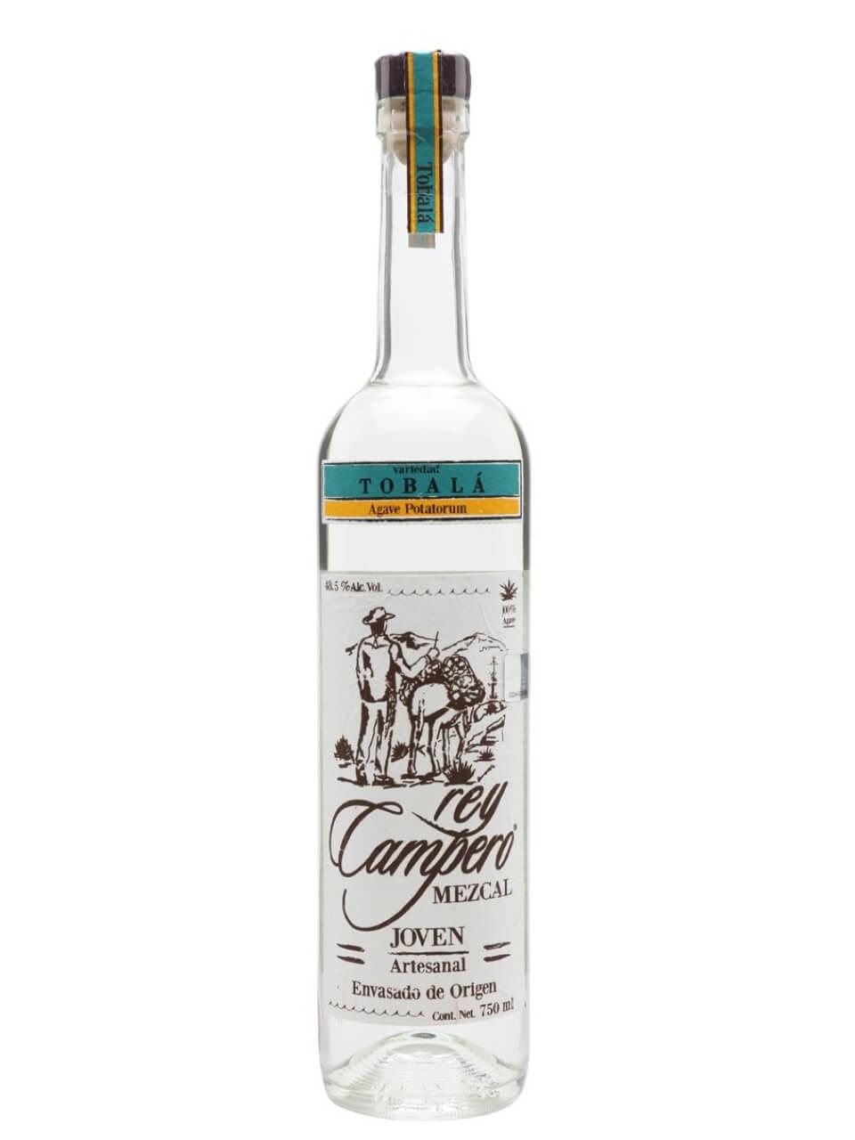 Rey Campero Tobala Joven Mezcal bottle