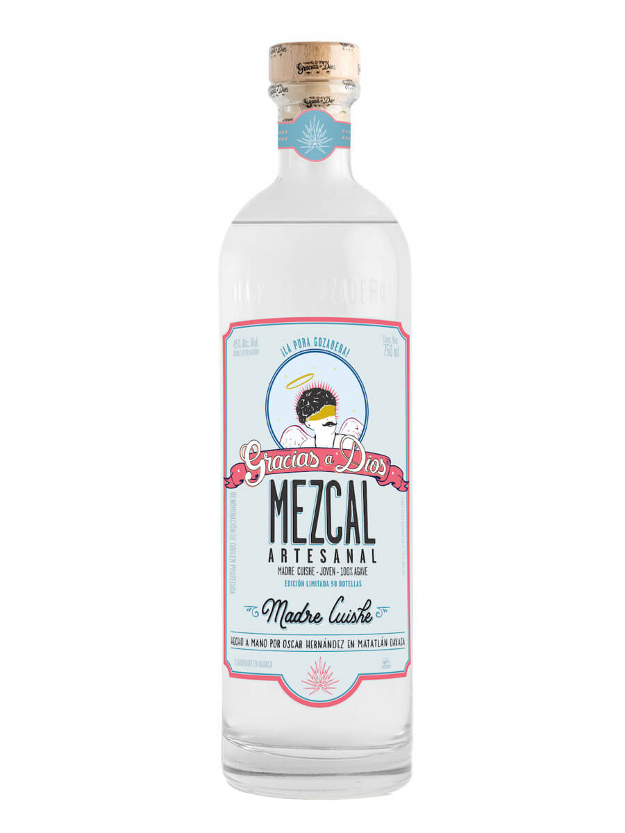 Bottle of Gracias A Dios Madre Cuishe Mezcal
