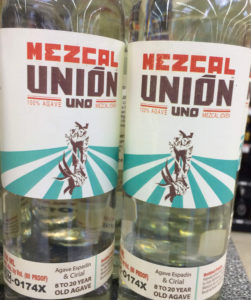 Mezcal Union Uno Joven Bottles