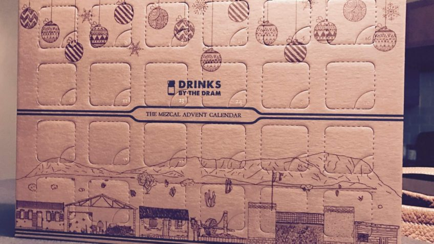 Mezcal Advent Calendar from Drinks by the Dram