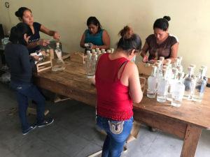 Wahaka Mezcal Bottling