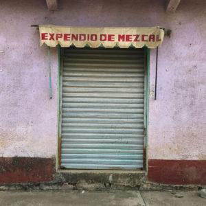 Wahaka Mezcal Doorway