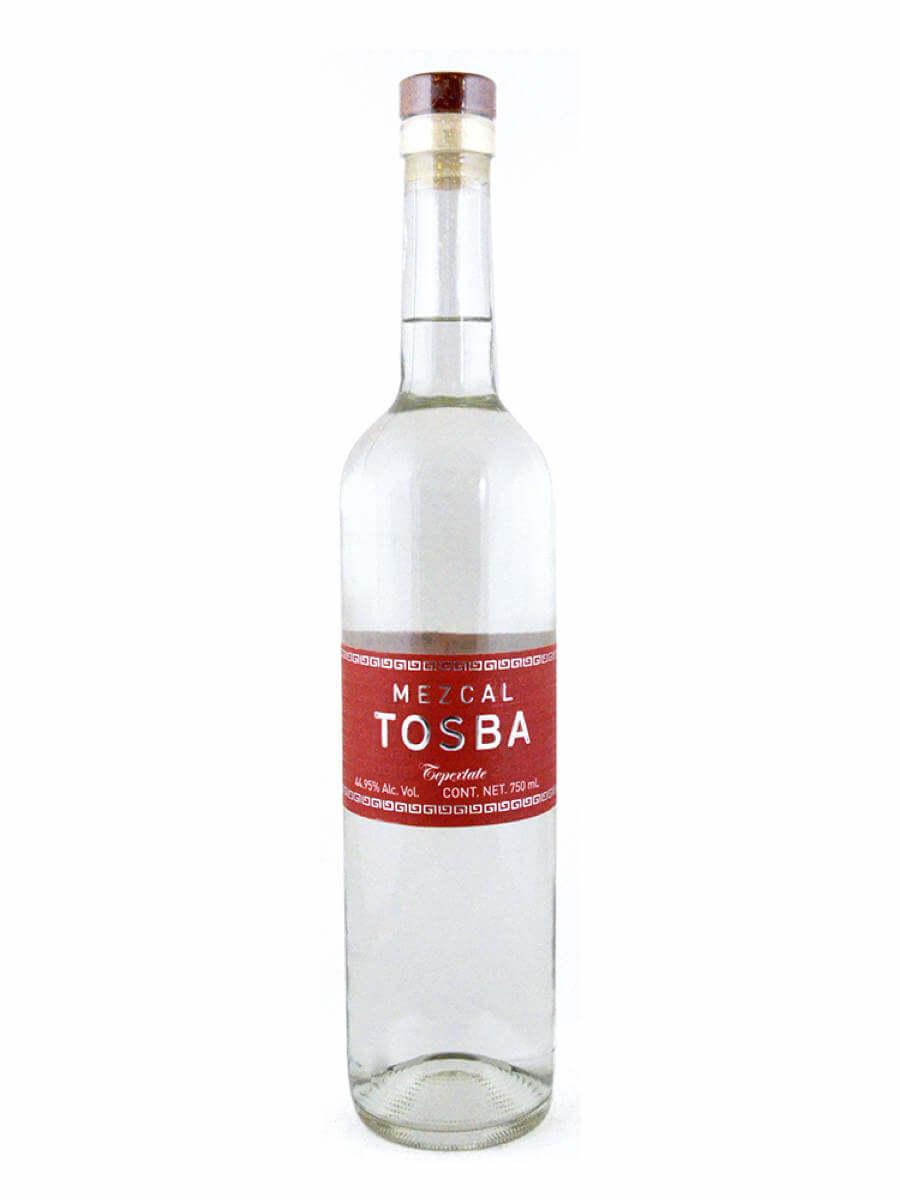 Mezcal Tosba Tepeztate bottle
