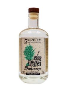Cinco Sentidos Madrecuixe agave spirit bottle