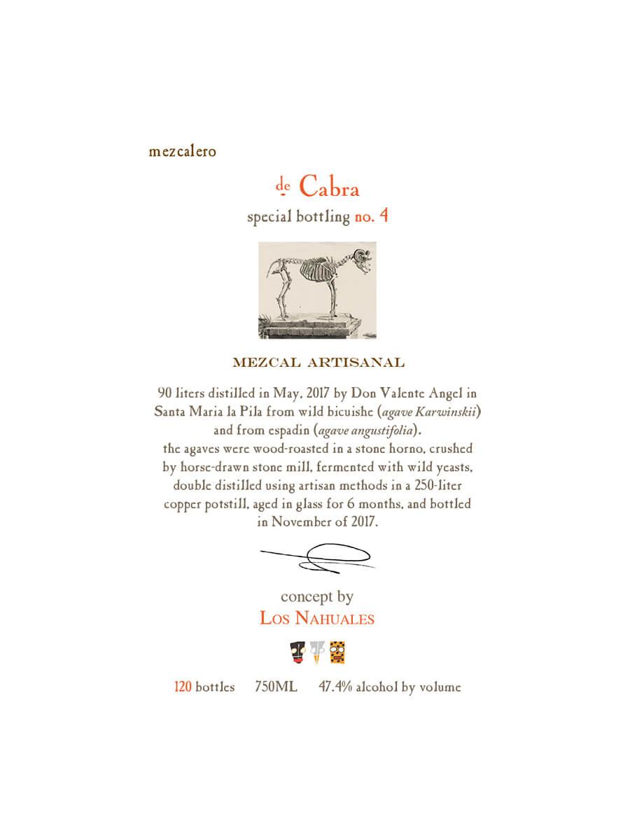 Mezcalero Sp Edition No 4 de Cabra