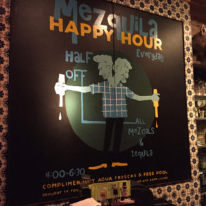 The Pastry War Happy Hour