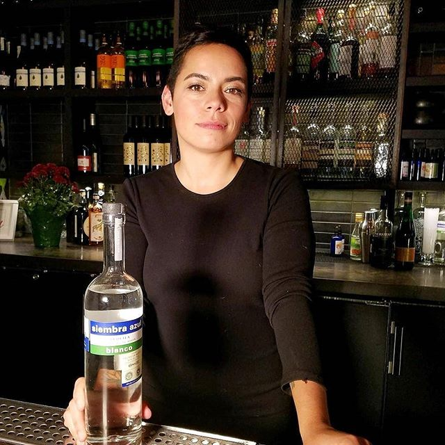 Megan Barnes at Espita Mezcaleria in Washington DC