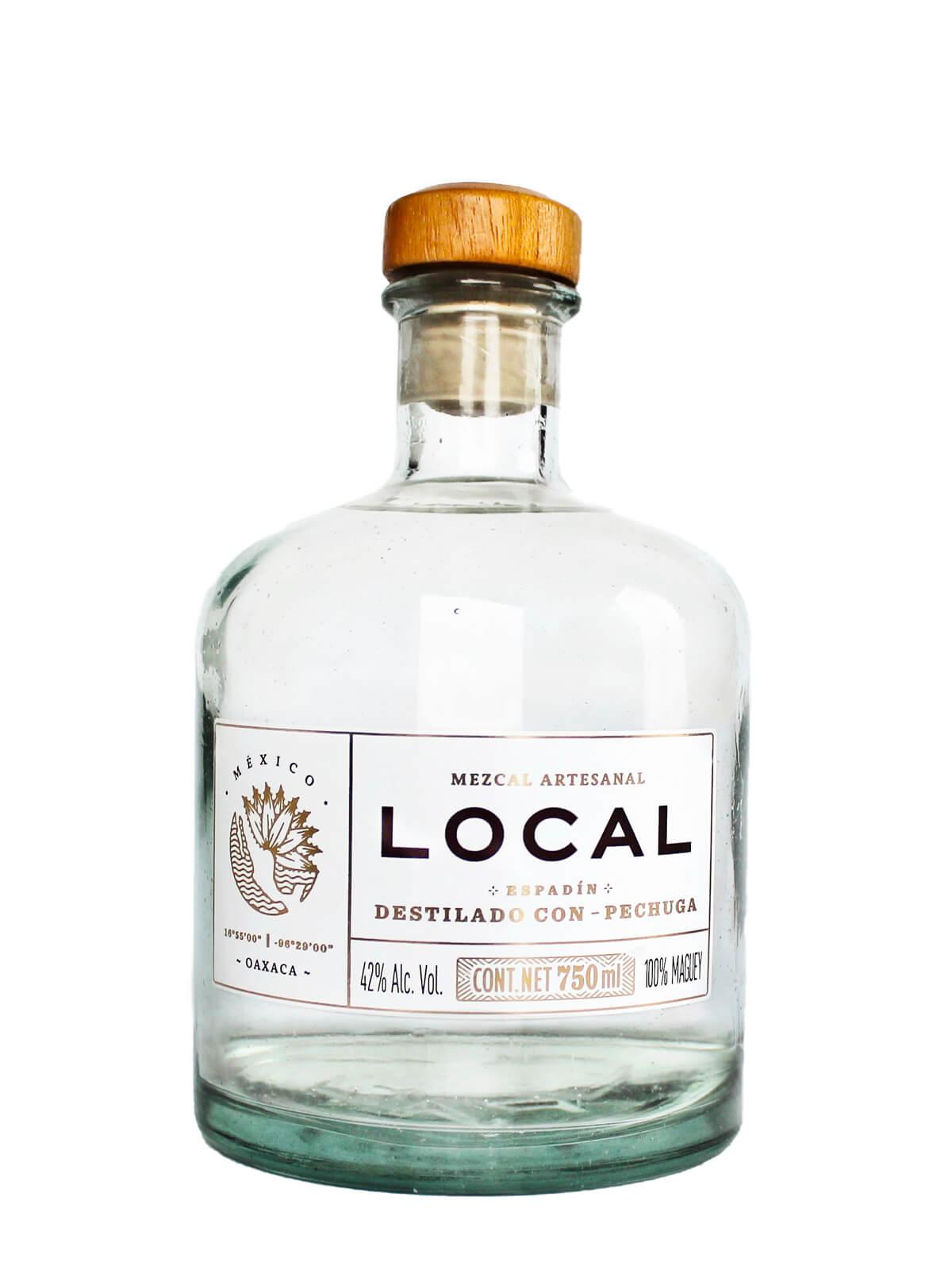 Mezcal Local Pechuga bottle