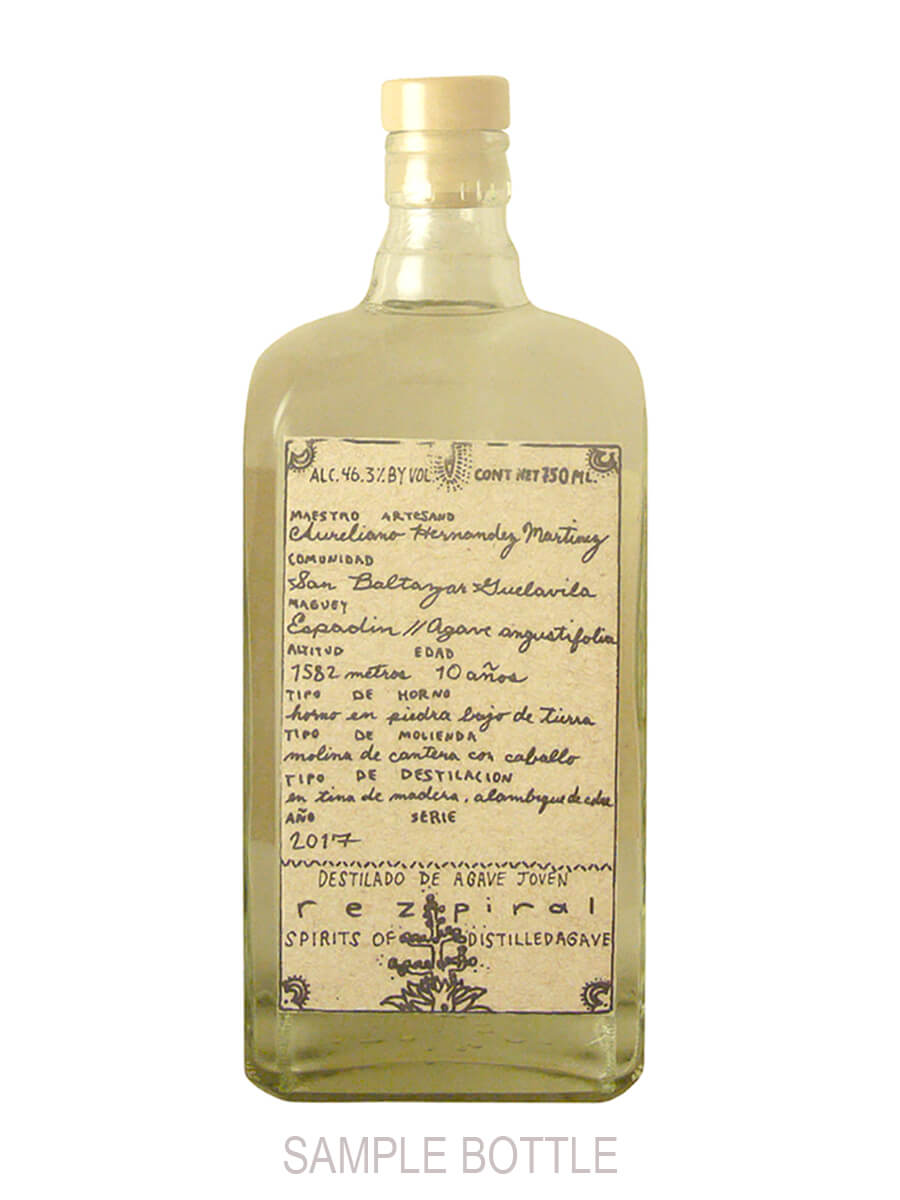 Rezpiral Sample Bottle Mezcal