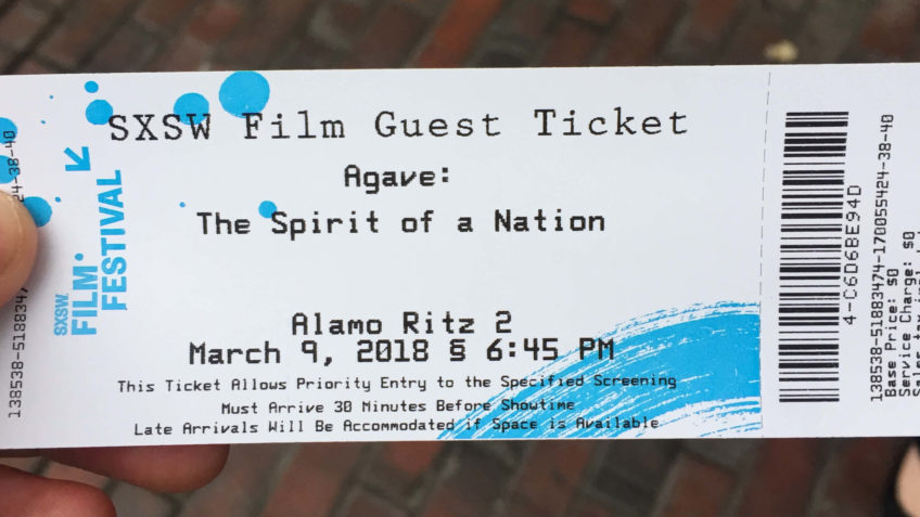 Agave The Spirit of a Nation Premier Ticket