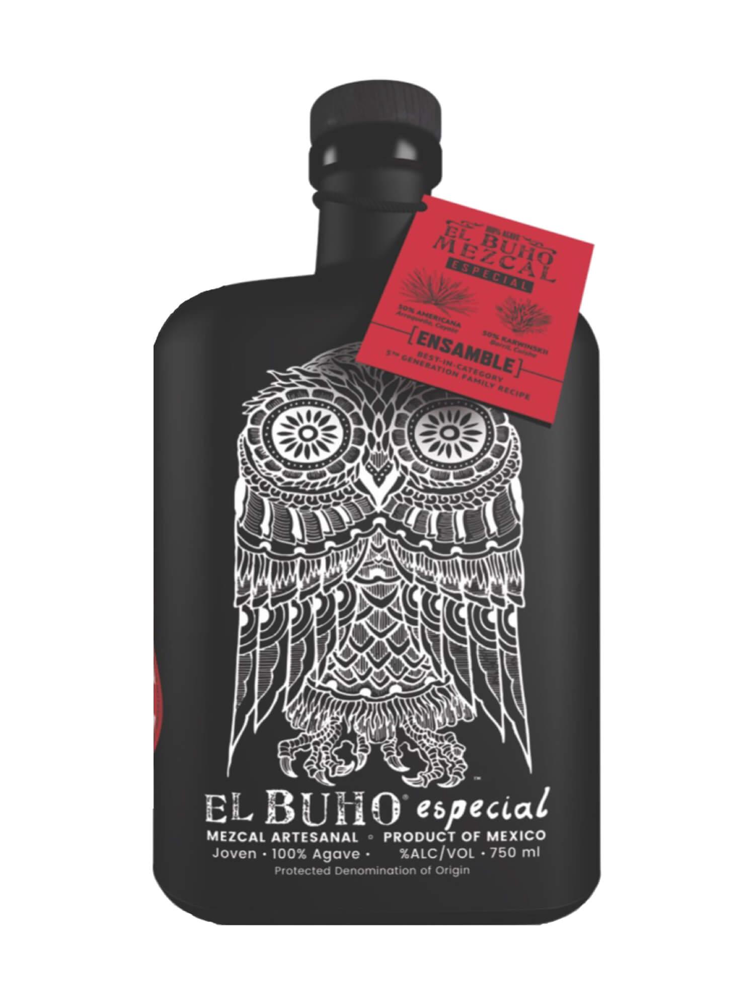 El Buho Especial Ensamble Mezcal bottle