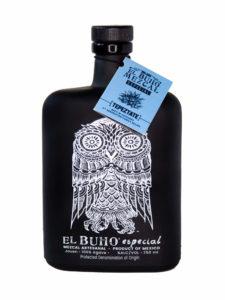 El Buho Tepeztate Mezcal bottle