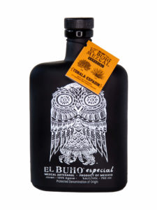 El Buho Tobala-Espadin Mezcal bottle