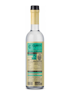 Clande Sotol Green Bottle