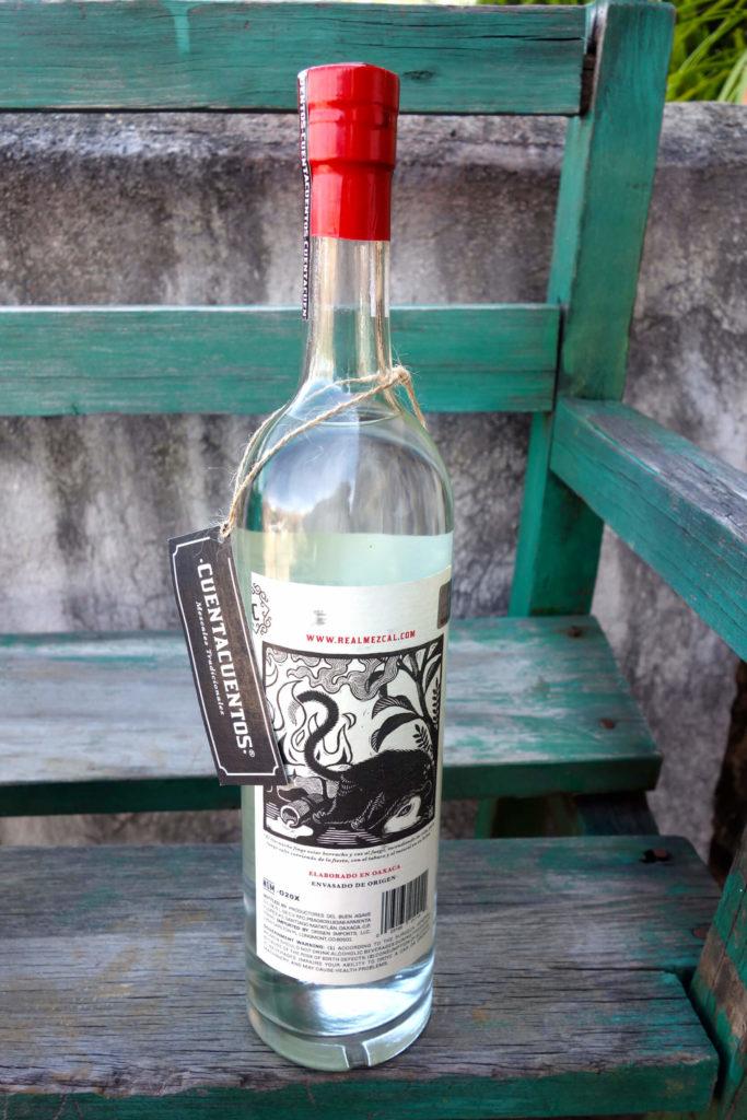 Cuentacuentos Mezcal bottle image