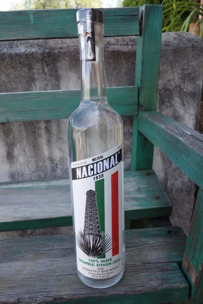 Mezcal Nacional bottle image