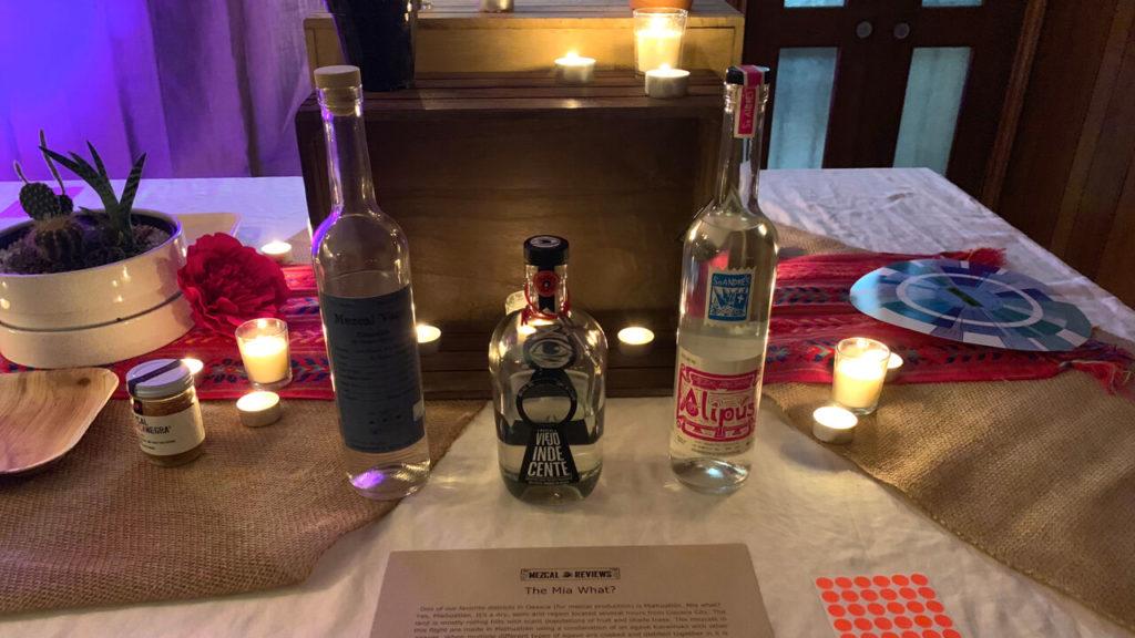 Miahuatlan Flight - Mezcal Reviews Anniversary Party