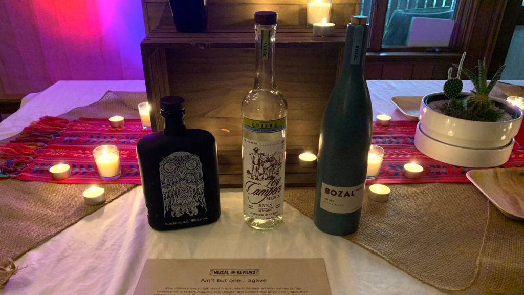 One Agave Flight - Mezcal Reviews Anniversary Party