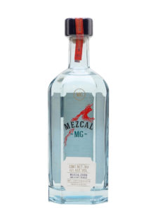 Mezcal Gin MG bottle