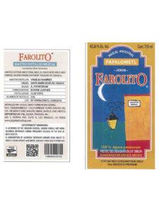 Farolito Mezcal Papalometl