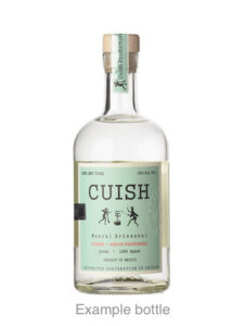 Mezcales Cuish bottle