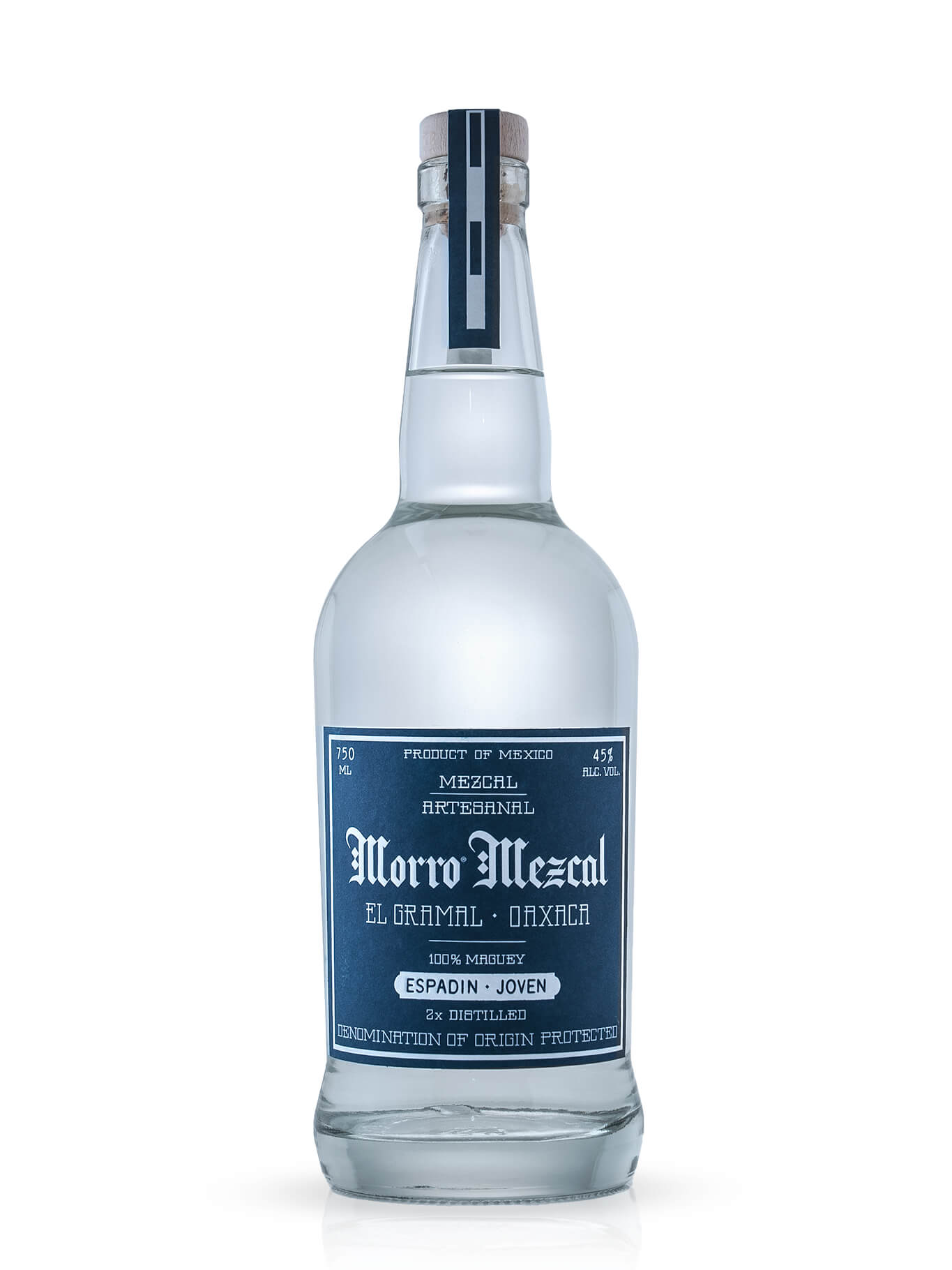 Morro Mezcal Joven Espadin bottle