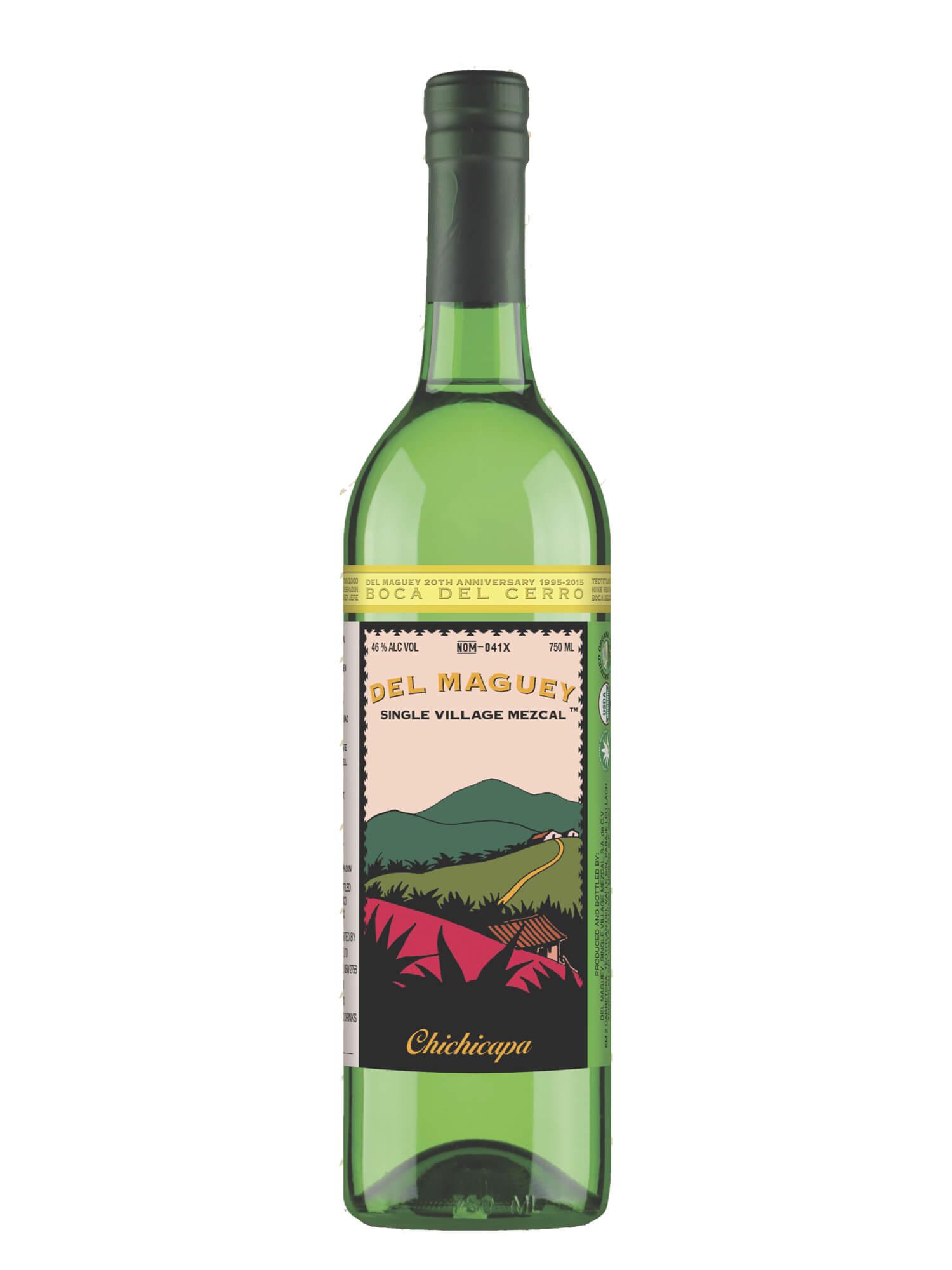 Del Maguey Boca del Cerro mezcal bottle