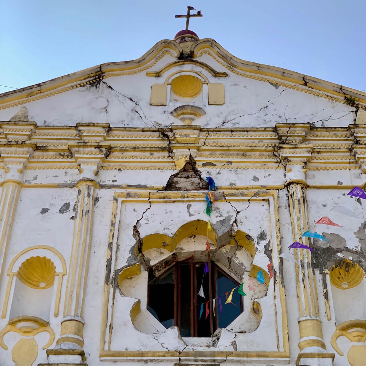 San Cristóbal Lachirioag church