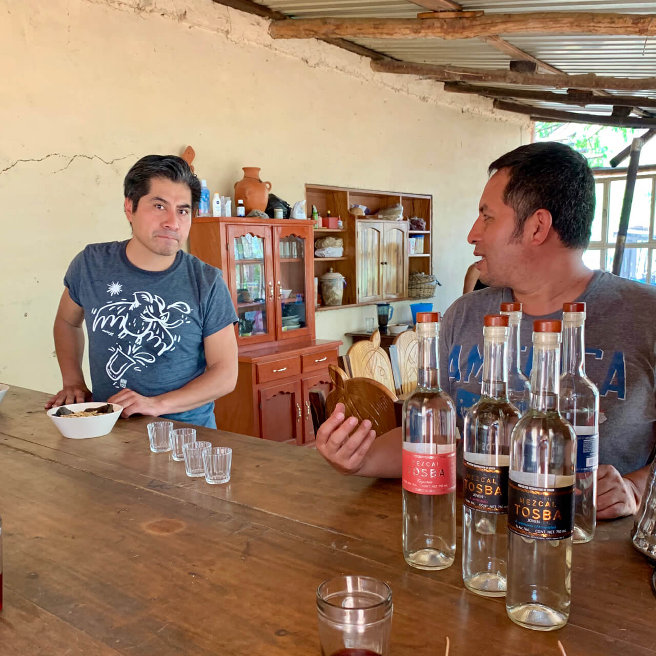 Elisandro and Edgar of Mezcal Tosba