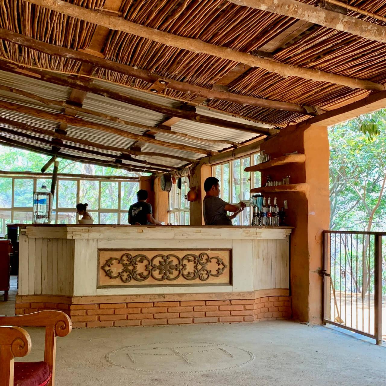 Mezcal Tosba palenque bar
