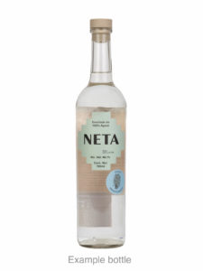NETA destilado de agave bottle