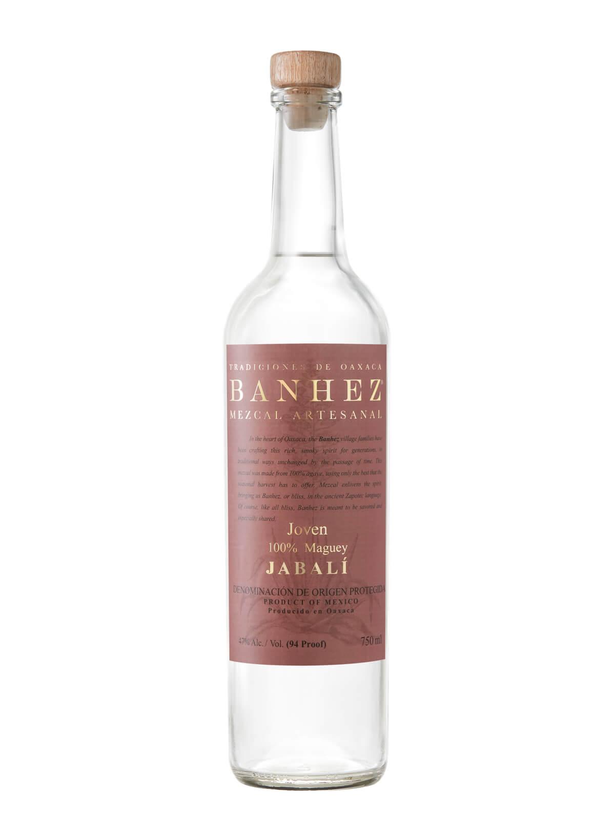 Banhez Mezcal Jabali bottle