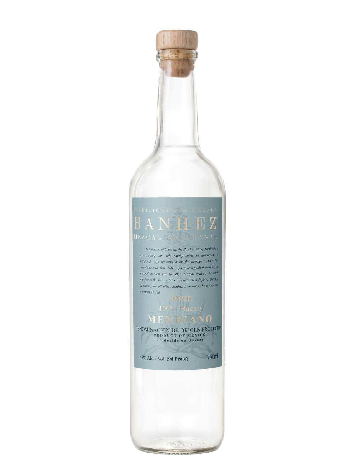 Banhez Mezcal Mexicano bottle
