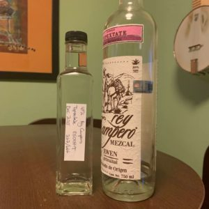 Rey Campero Tepextate air in bottle does mezcal go bad