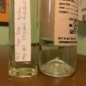 Vago Elote air in bottle does mezcal go bad
