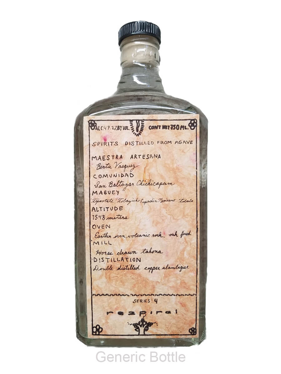 Rezpiral General Bottle Mezcal