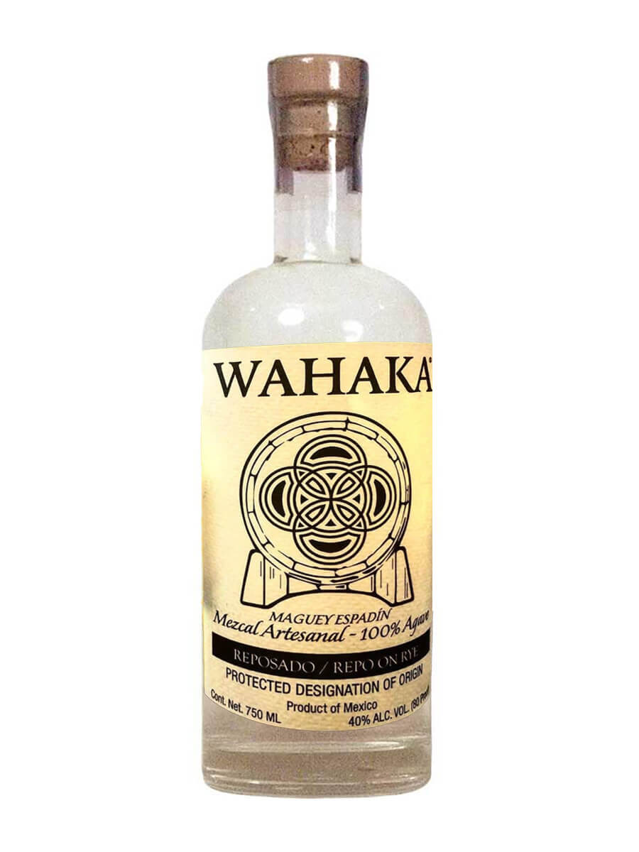 Wahaka Repo on-Rye Wigle Whiskey Reposado Mezcal