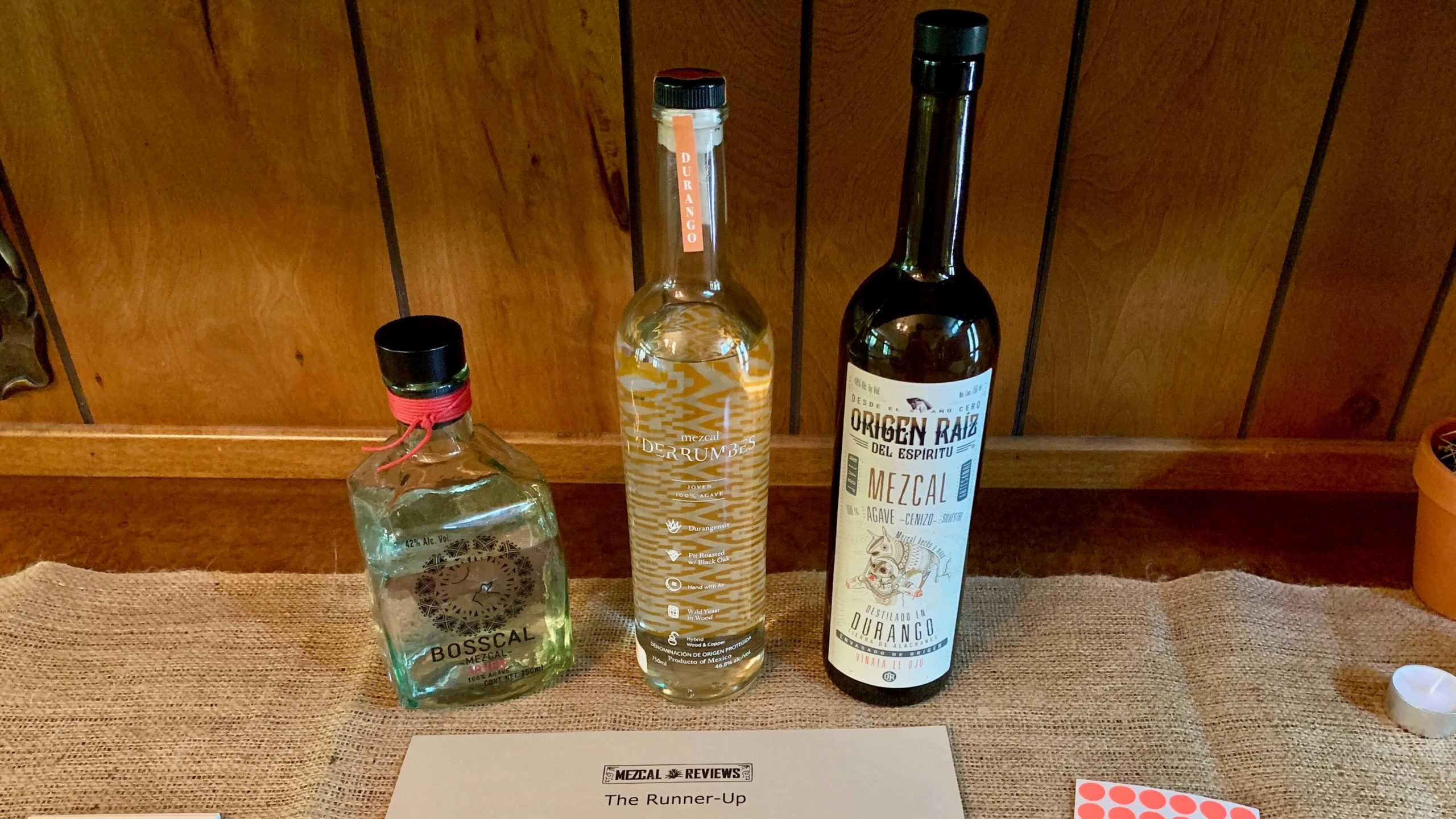 Mezcal Reviews Tasting Durango Flight