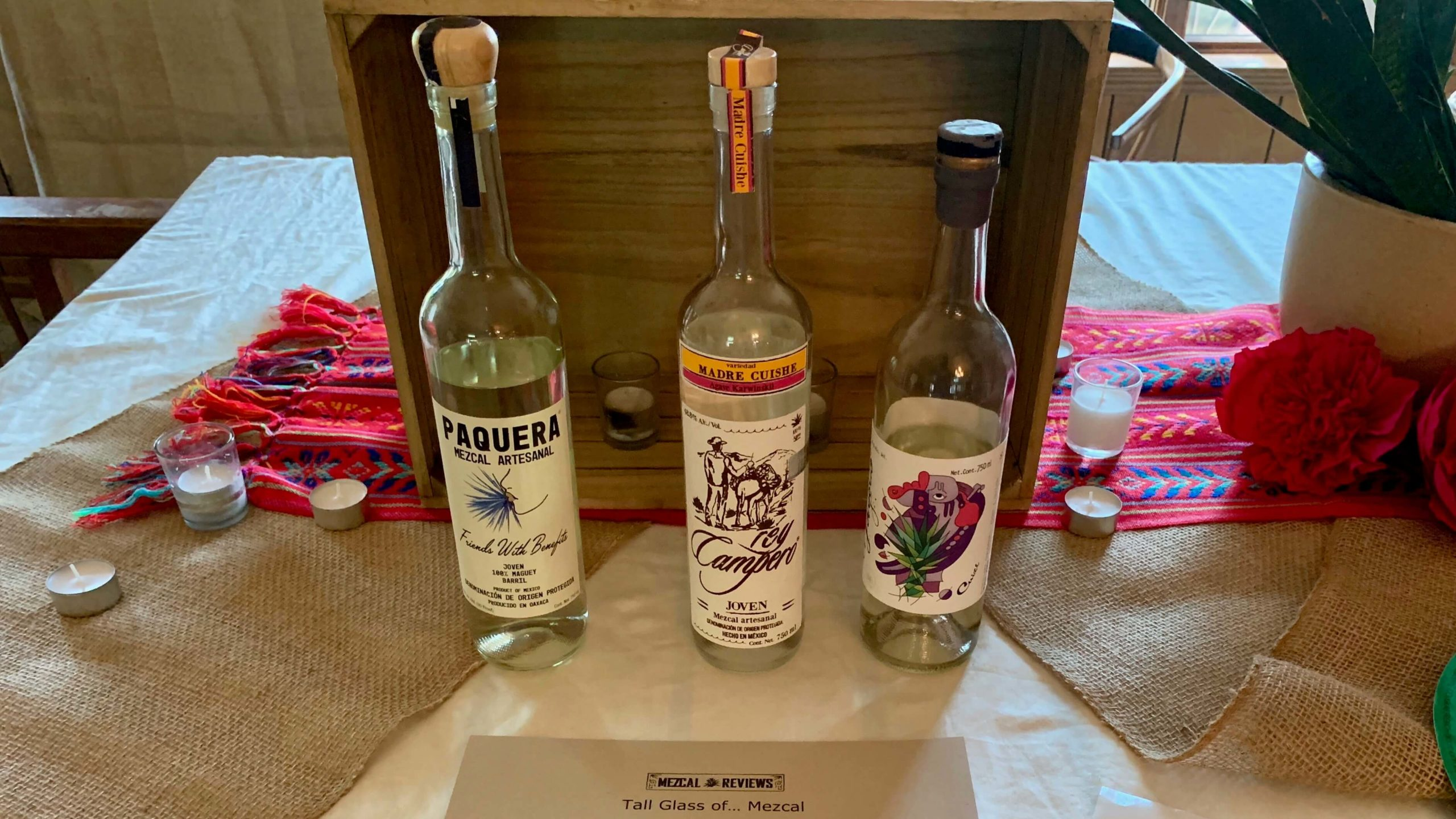 Mezcal Reviews Tasting Karwinskii Flight