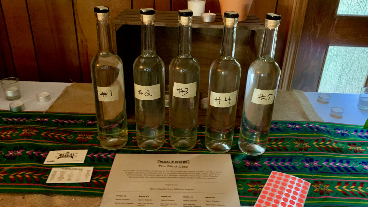 Mezcal Reviews party blind flight