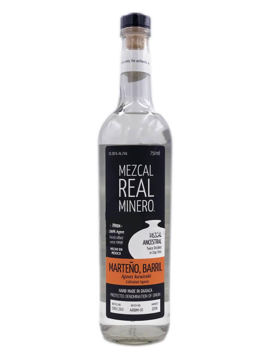 Real Minero Marteno Barril Mezcal Ancestral