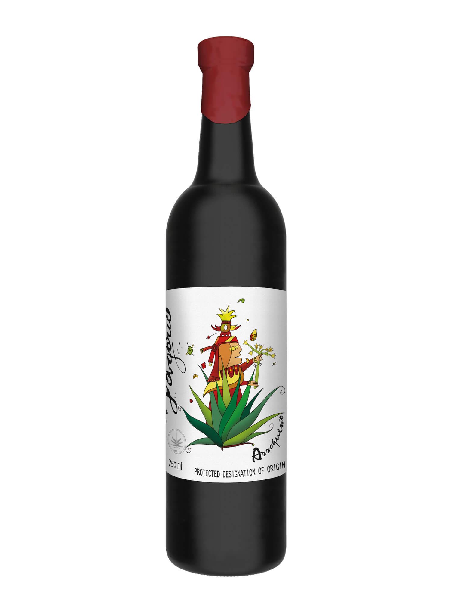 El Jolgorio Arroqueno Mezcal bottle