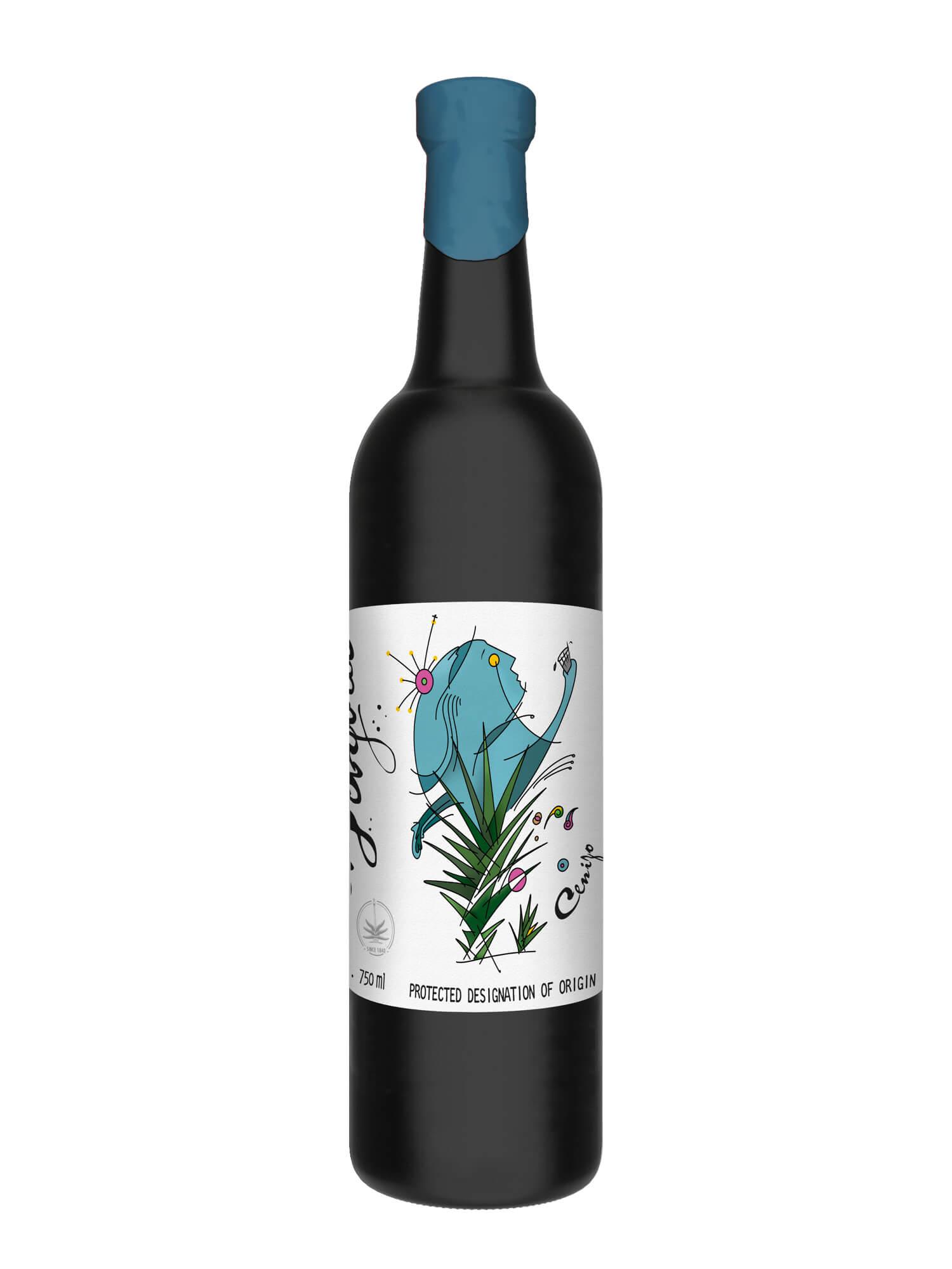 El Jolgorio Cenizo Karwinskii Mezcal bottle