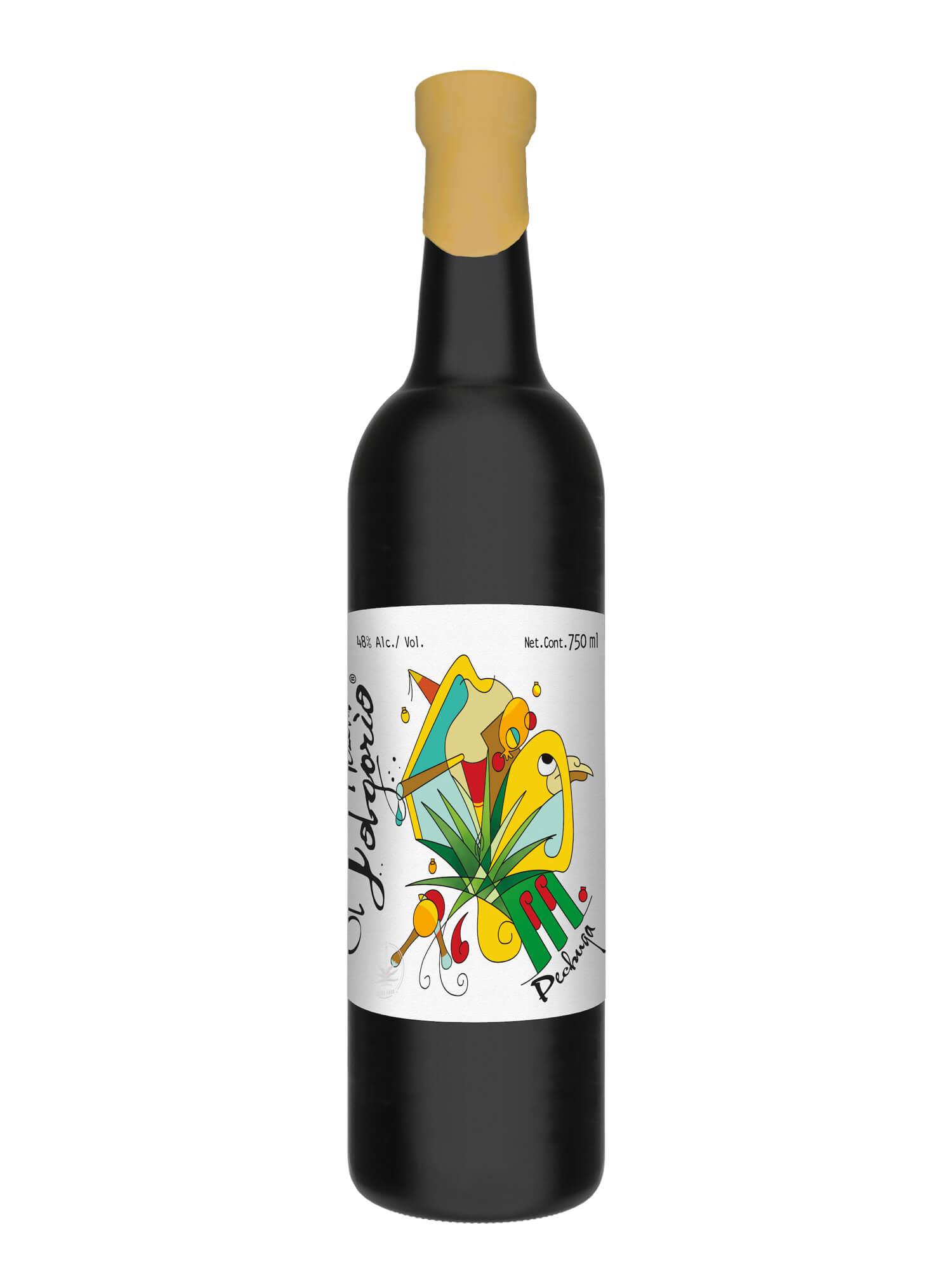 El Jolgorio Pechuga Navideña Mezcal bottle