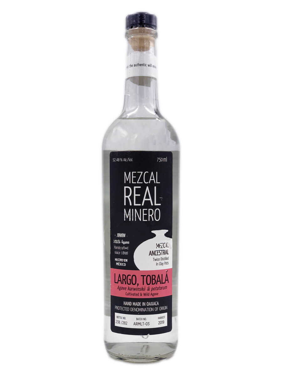 Real Minero Largo Tobala Mezcal